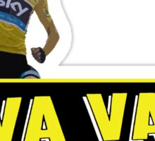 Chris Froome - Va Vaa Froome (Tour De France 2015) Sticker
