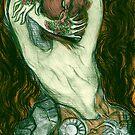 Tattooed Hands by roxygen