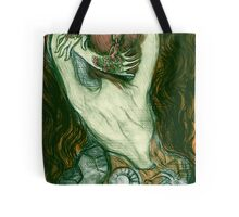 Tattooed Hands Tote Bag