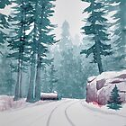 A Drive Through Sequoia by Cameron Porter