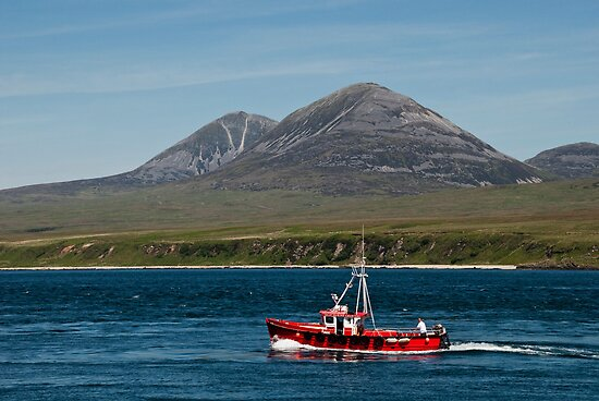 Islay: Across to The Paps of Jura  by Kasia-D