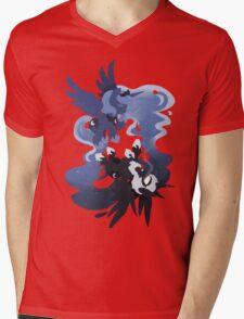 MLP: Luna + Nightmare Moon Mens V-Neck T-Shirt