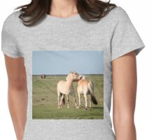 Cuddly Horses Womens Fitted T-Shirt