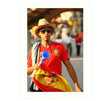 Espana World Cup 2010  Art Print