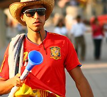 Espana World Cup 2010  by lallymac