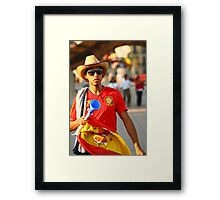 Espana World Cup 2010  Framed Print