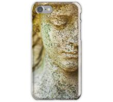 Memphis Elmwood Cemetery - Girl With Cross Square iPhone Case/Skin