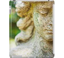 Memphis Elmwood Cemetery - Girl With Cross Square iPad Case/Skin