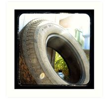 Spare Tire Art Print