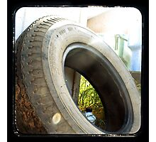 Spare Tire Photographic Print
