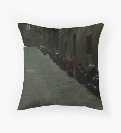 Siena Vespas Throw Pillow
