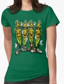 Corn Party  Womens Fitted T-Shirt