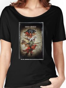 Dino Jenga! Women's Relaxed Fit T-Shirt