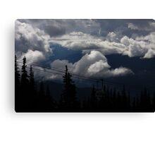 2000 Meters up Canvas Print