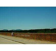 Lucca Walls Photographic Print