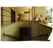 Montecatini Terme Station Poster