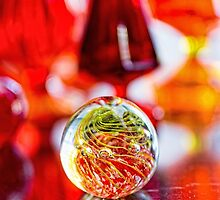 Red Reflections by JonWoodhams