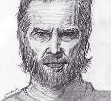 Jeff Bridges by jamestomgray