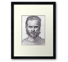 Jeff Bridges Framed Print