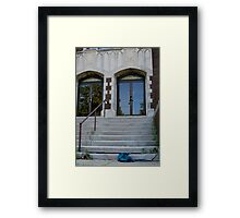 Lost Sweater Framed Print