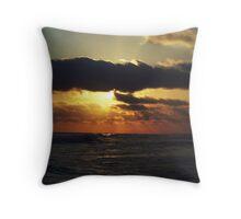 cajun sun Throw Pillow