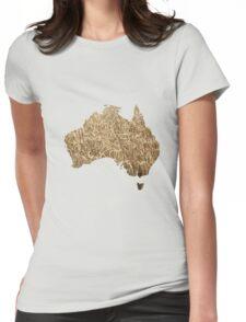 Australian arable farming Womens Fitted T-Shirt