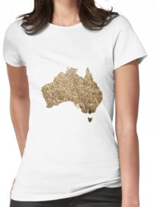 Australian arable farming Womens Fitted T-Shirt