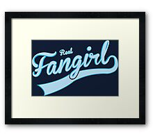 Real Fangirl Framed Print
