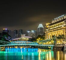 The Fullerton Hotel by Adri  Padmos
