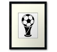 World Cup Trophy Framed Print