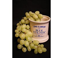 ~ A Marriage Of Stilton and Grapes ~ Photographic Print