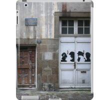Rue des Petits Degrés jadis rue de la Piedevacherie iPad Case/Skin