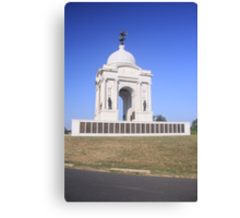 Pennsylvania Monument at Gettysburg Canvas Print
