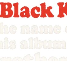 The Black Keys Album Sticker