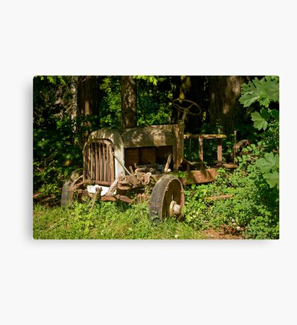 Abandoned 1922 Federal Truck Canvas Print