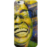 """Satchmo"" (Jazzy Cake Paint) iPhone Case/Skin"