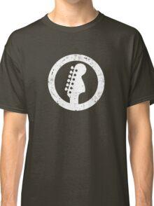 Stratocaster 70s Headstock, White Classic T-Shirt