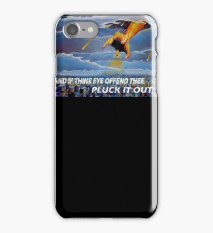 MATTHEW 18:9  - THINE EYE OFFENDS iPhone Case/Skin