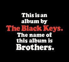 The Black Keys Album by linotasseri