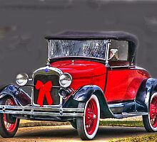 Christmas Ford HDR by WTBird
