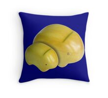 Wombat (Vombatus Ursinus Hirsutus) Throw Pillow