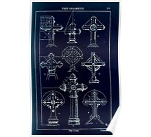 A Handbook Of Ornament With Three Hundred Plates Franz Sales Meyer 1896 0189 Free Ornaments Cross Inverted Poster