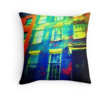 Brooklyn funhouse Throw Pillow