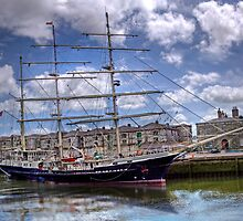 "Sailing Ship ""Tenacious"" - Cork Harbour, Ireland by Mark Richards"