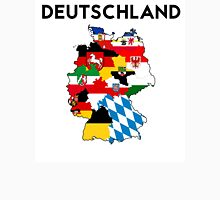 germany country political flag map Unisex T-Shirt