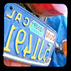 Coastal Cruise - California Motorcycle Plate by redashton