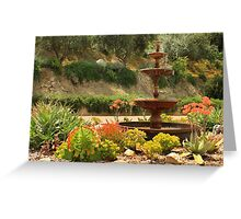 Cactus Fountain Greeting Card