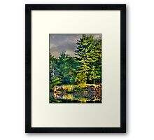 Memories and Reflections Framed Print