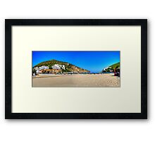 Lots of Room at the Back Framed Print