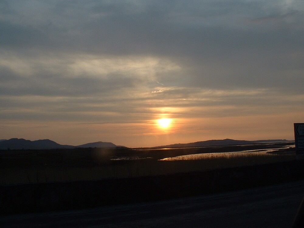 sunset in donegal by paddymc
